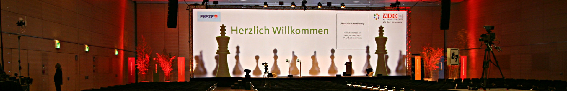 AV rental company, conference technology and media systems in Austria